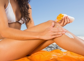 Top tips for treating sunburn