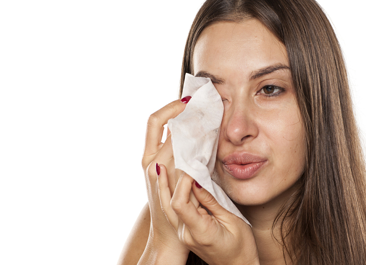 The most common mistakes we make when washing our faces