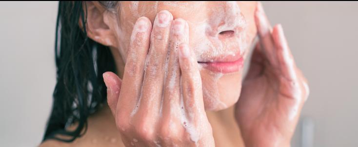 Washing your skin